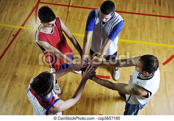 équipe basket-ball - csp3657180