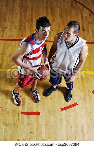 équipe basket-ball - csp3657084