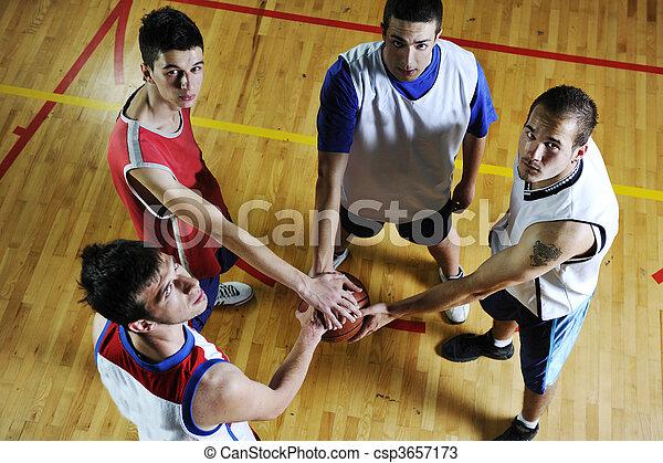 équipe basket-ball - csp3657173