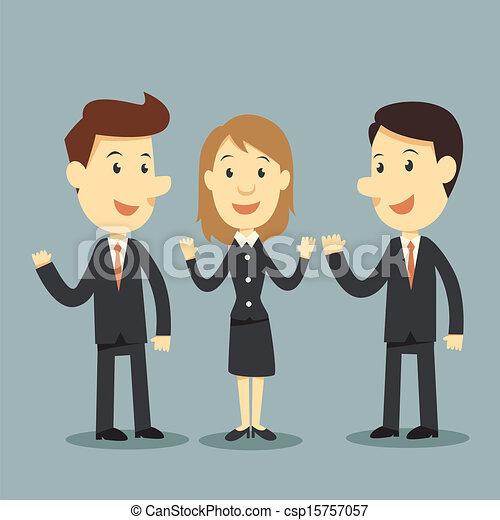équipe, business - csp15757057
