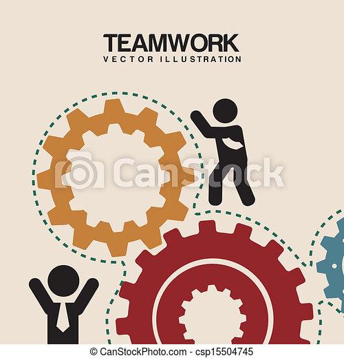 équipe travail - csp15504745
