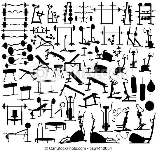 équipement, gymnase - csp1440054