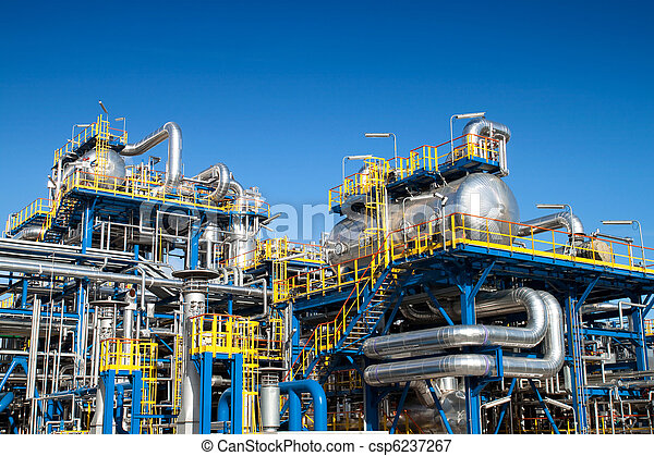 équipement, industrie, huile, installation - csp6237267