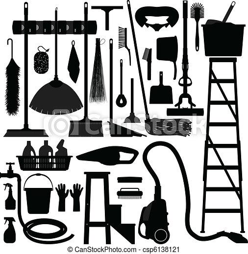 équipement, ménage, conjugal, outillage - csp6138121