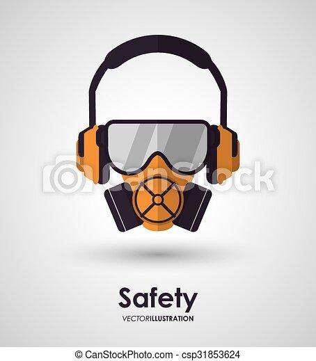 équipement, sécurité, conception - csp31853624