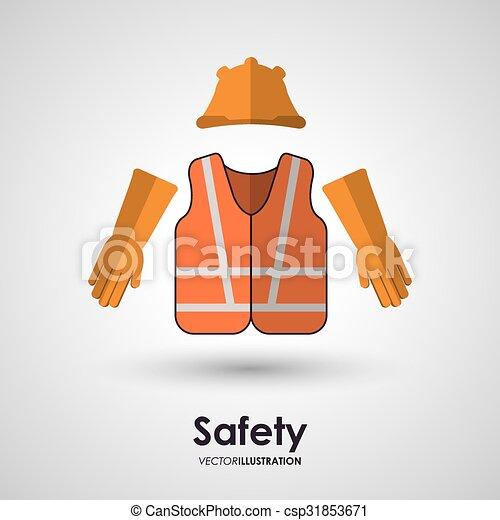 équipement, sécurité, conception - csp31853671