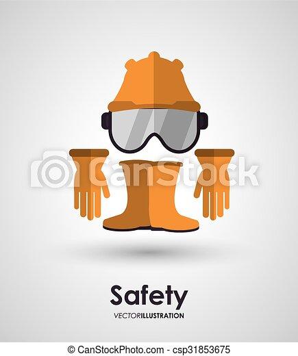 équipement, sécurité, conception - csp31853675