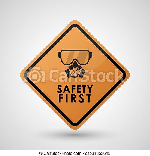 équipement, sécurité, conception - csp31853645