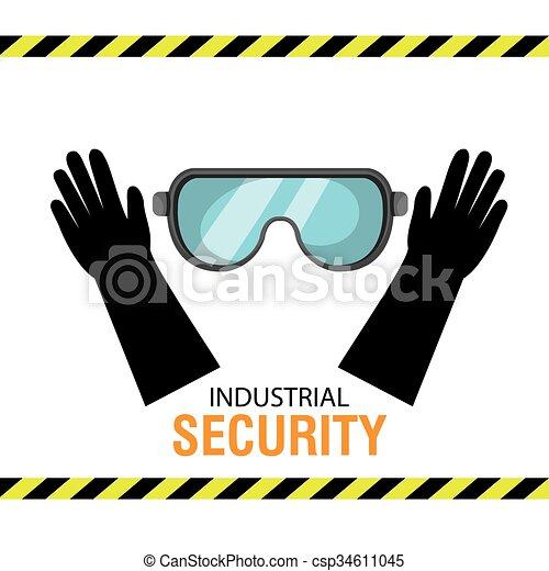 équipement, sécurité, conception - csp34611045