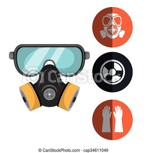 équipement, sécurité, conception - csp34611049