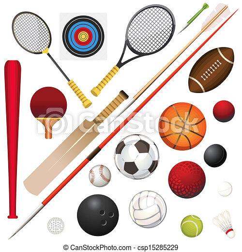 équipement, sports - csp15285229