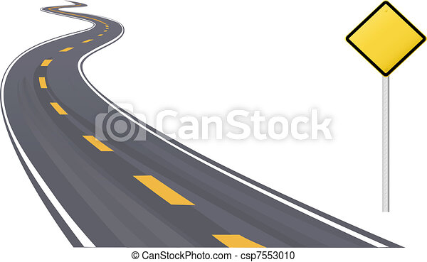 értesülés, hely, aláír, forgalom, másol, autóút - csp7553010