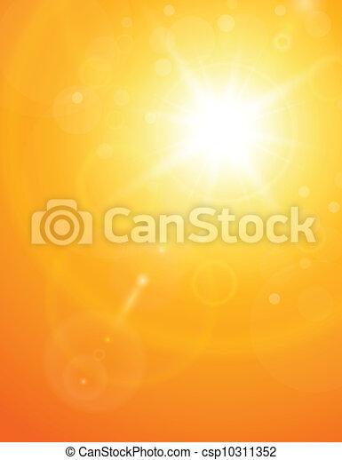 été, naturel, fond - csp10311352