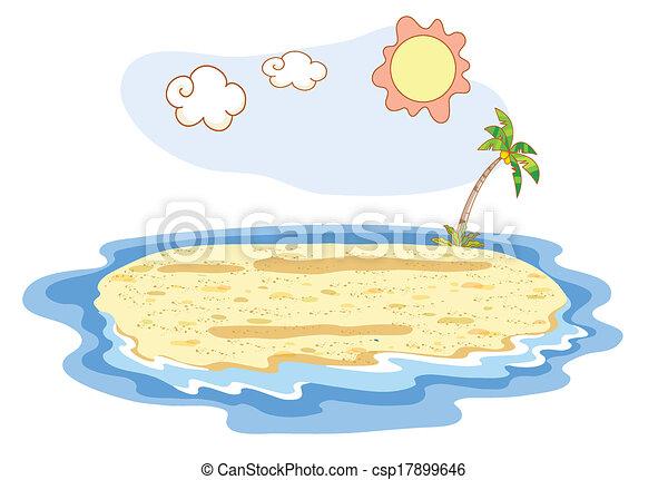 été, plage - csp17899646