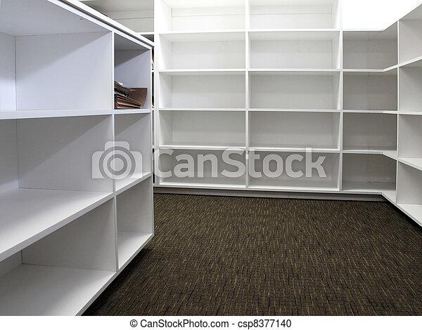 Étagère bureau fichiers bureau étagères nouveau blanc