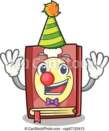 Etagere Livre Recette Clown Mascotte