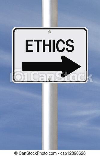 éthique, manière, ceci - csp12890628