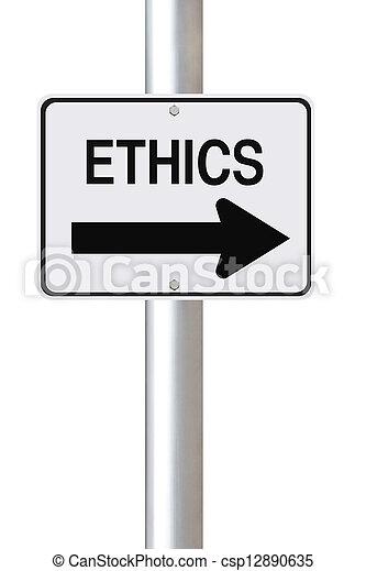 éthique, manière, ceci - csp12890635