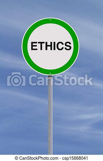 éthique - csp15668041