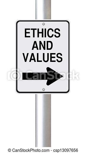 éthique, valeurs - csp13097656