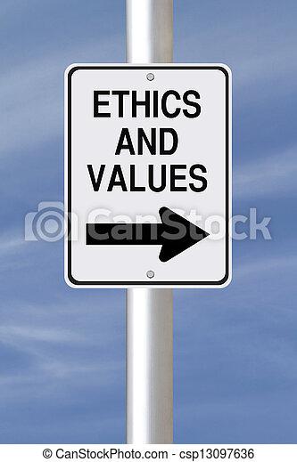 éthique, valeurs - csp13097636