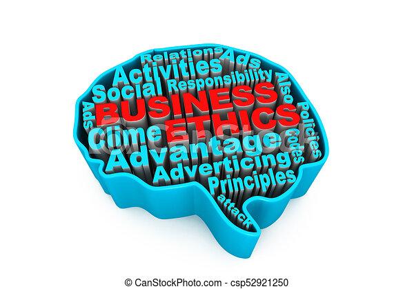 Ética de negocios - csp52921250