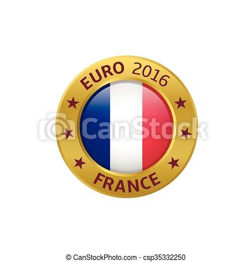 étiquette, france, 2016 - csp35332250