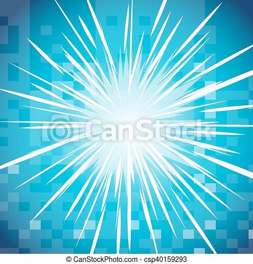 étoile, clair, conception, fond - csp40159293