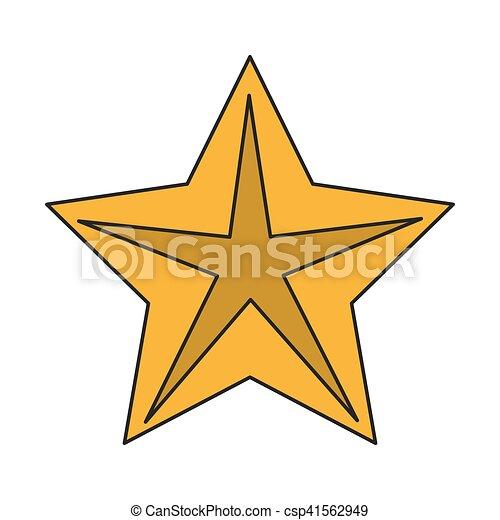 étoile, clair, conception, isolé - csp41562949