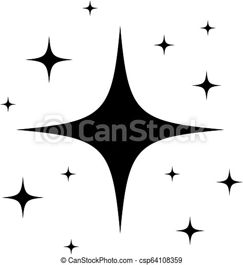 Etoile Dessin Anime Etincelant Etoile Scintillement Dessin Anime Etincelant Ou Canstock