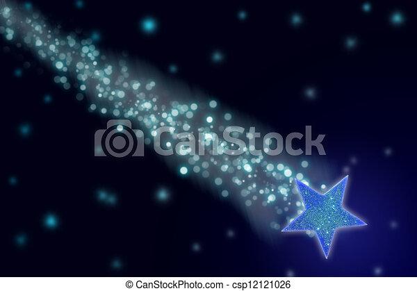 étoile filante - csp12121026