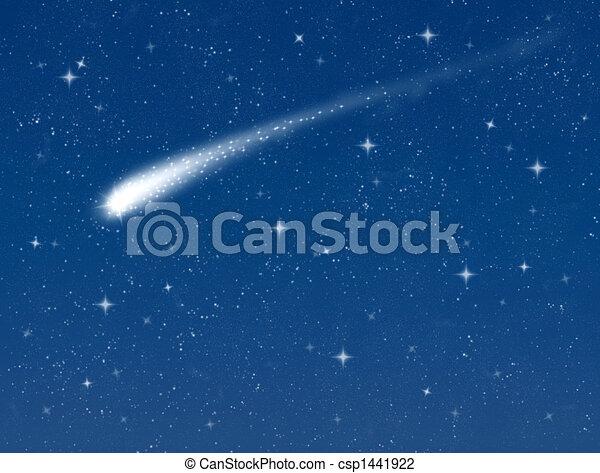 étoile filante - csp1441922
