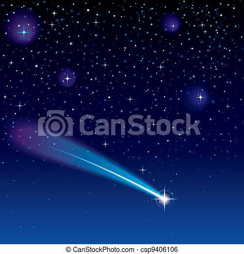 étoile filante - csp9406106