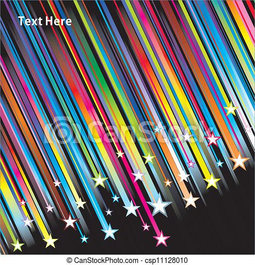 étoile, fond - csp11128010