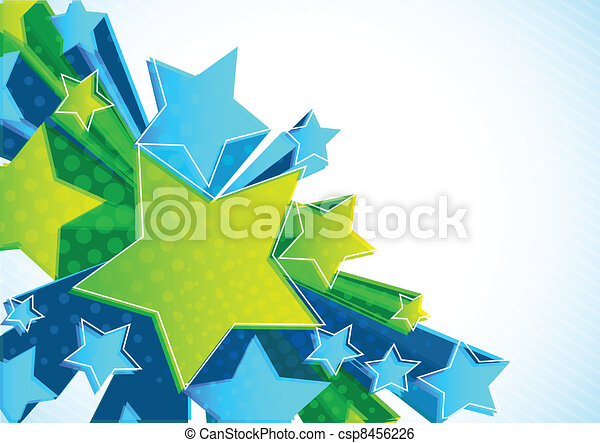 étoile, fond - csp8456226