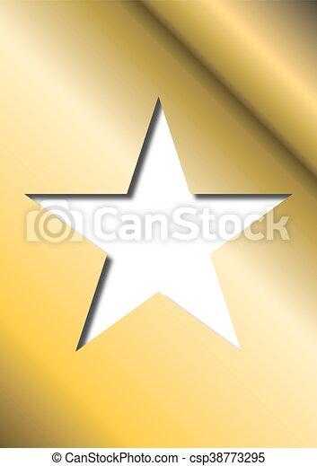 étoile, or - csp38773295