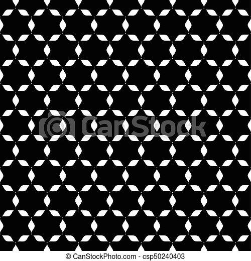 Etoile Resume Papier Peint Seamless Noir Blanc Resume Etoile