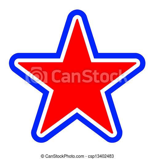 étoile - csp13402483