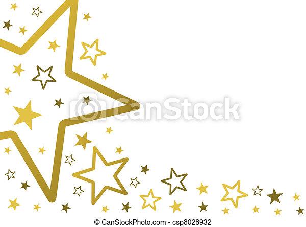 étoiles, fond - csp8028932