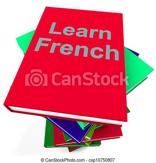 Etudier Livre Langue Francaise Apprendre
