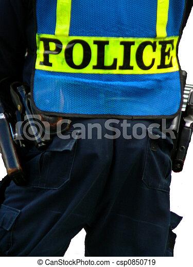 étui, policier - csp0850719