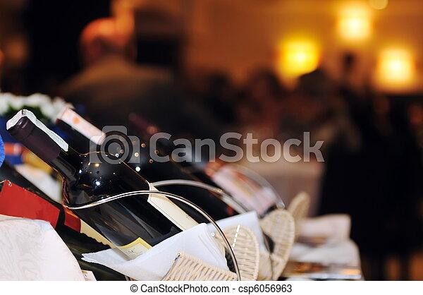 événement, fête, coctail, banquet, restauration - csp6056963
