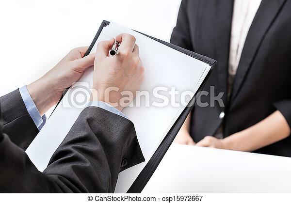 évaluation, potentiel, ouvrier - csp15972667