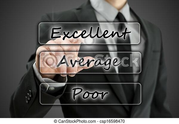 évaluation, virtuel, formulaire - csp16598470
