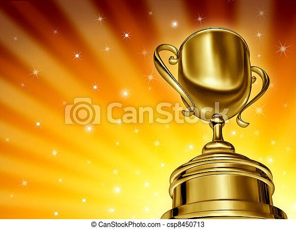 Ganar el éxito - csp8450713