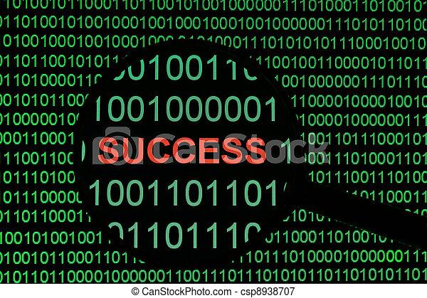 Éxito - csp8938707