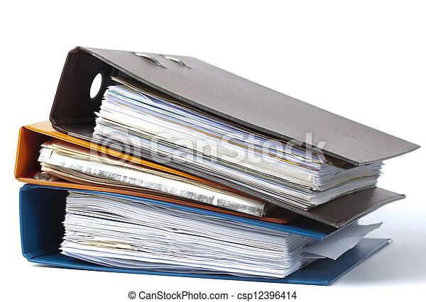 être, cartes, utilisé, administrion - csp12396414