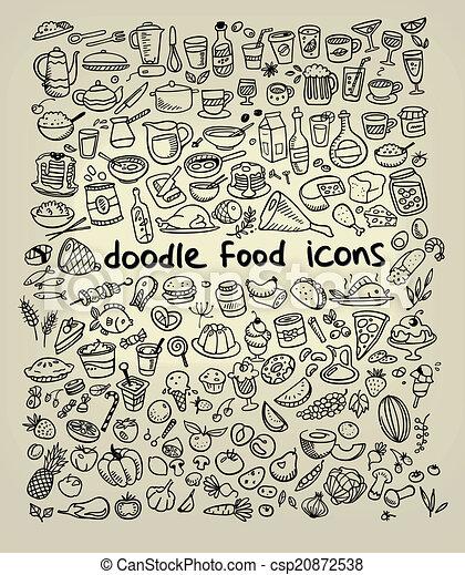 ícones alimento - csp20872538