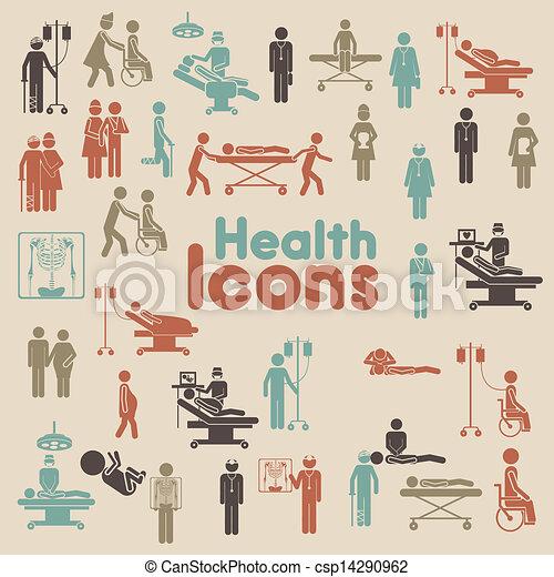 ícones, saúde - csp14290962