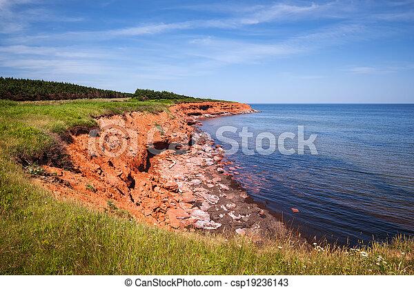 île, edward, prince, littoral - csp19236143